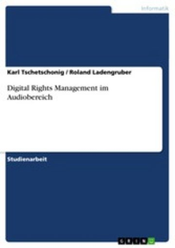 eBook Digital Rights Management im Audiobereich Cover