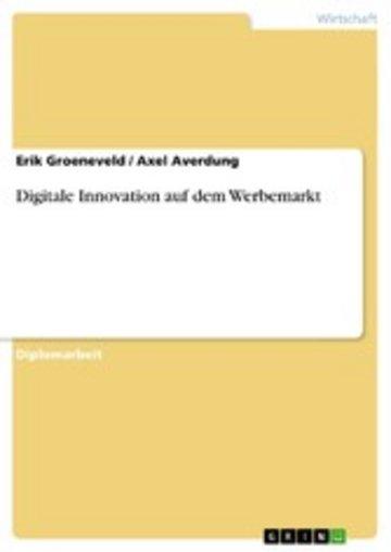 eBook Digitale Innovation auf dem Werbemarkt Cover