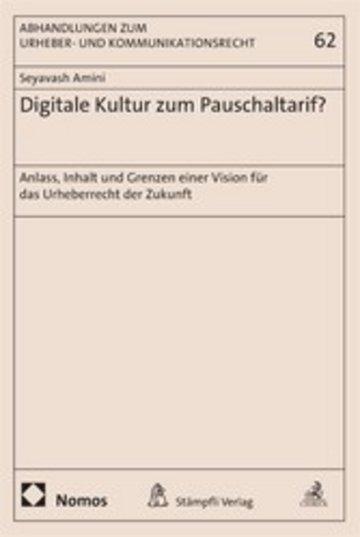 eBook Digitale Kultur zum Pauschaltarif? Cover