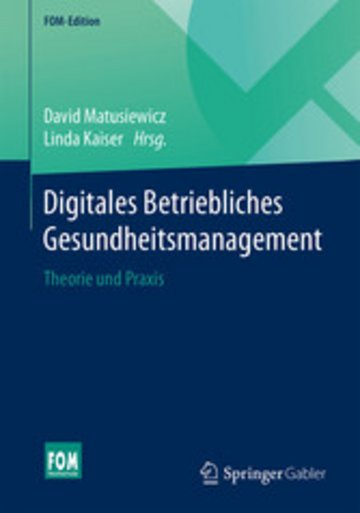 eBook Digitales Betriebliches Gesundheitsmanagement Cover
