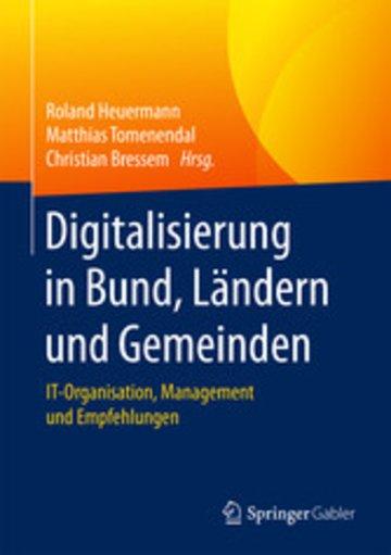 eBook Digitalisierung in Bund, Ländern und Gemeinden Cover