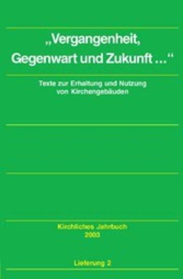 eBook Dokumente zum kirchlichen Zeitgeschehen - Kirchliches Jahrbuch, Jg. 130, Lfg. 2 Cover