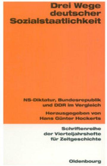 eBook Drei Wege deutscher Sozialstaatlichkeit Cover