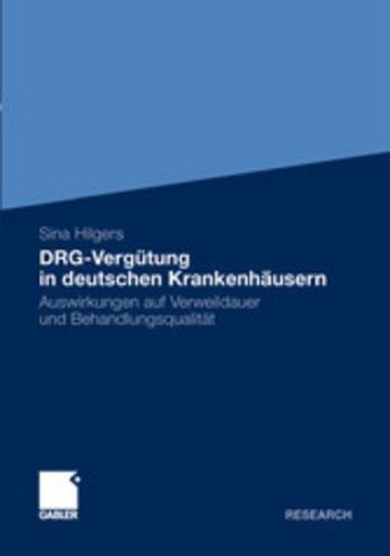 eBook DRG-Vergütung in deutschen Krankenhäusern Cover