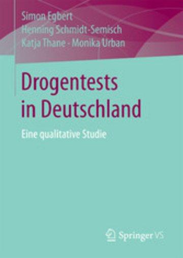 eBook Drogentests in Deutschland Cover