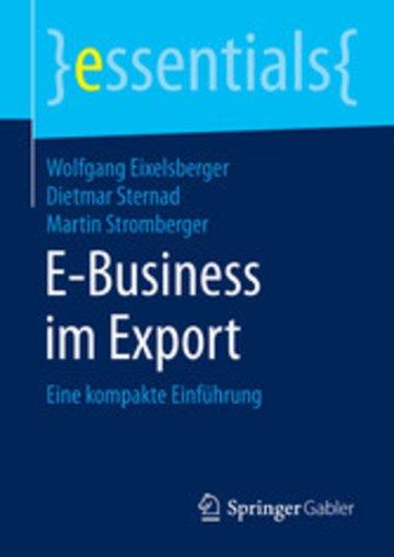 eBook E-Business im Export Cover