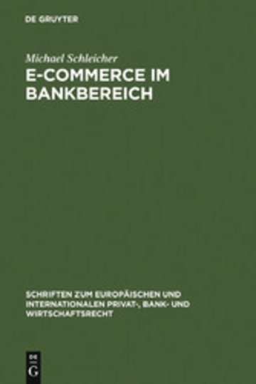 eBook E-Commerce im Bankbereich Cover