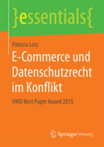 eBook E-Commerce und Datenschutzrecht im Konflikt Cover