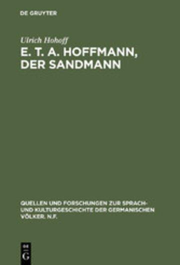 eBook E. T. A. Hoffmann, Der Sandmann Cover