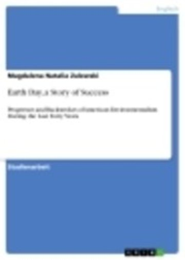 eBook Earth Day, a Story of Success Cover