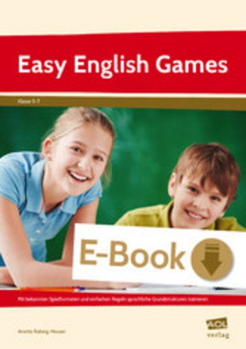 eBook Easy English Games Cover