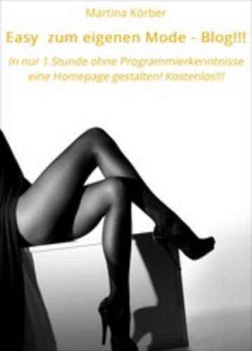 eBook Easy zum eigenen Mode - Blog!!! Cover