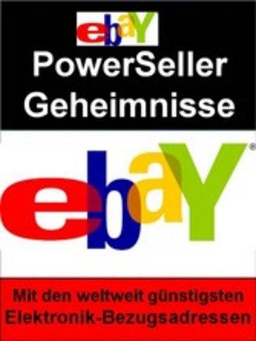 eBook Ebay PowerSeller Geheimnisse Cover