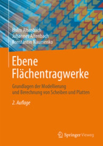 eBook Ebene Flächentragwerke Cover