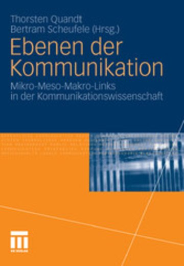 eBook Ebenen der Kommunikation Cover