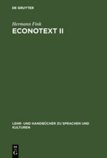 eBook Econotext II Cover