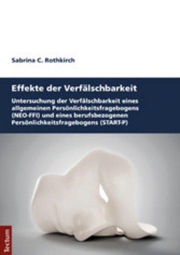 eBook Effekte der Verfälschbarkeit Cover