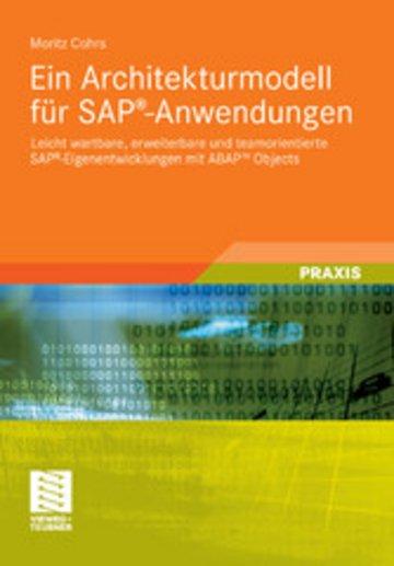 eBook Ein Architekturmodell für SAP®-Anwendungen Cover
