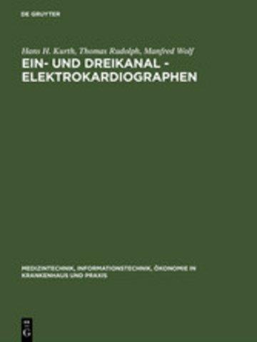 eBook Ein- und Dreikanal - Elektrokardiographen Cover