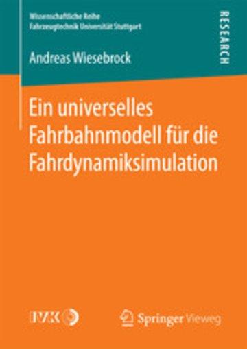 eBook Ein universelles Fahrbahnmodell für die Fahrdynamiksimulation Cover