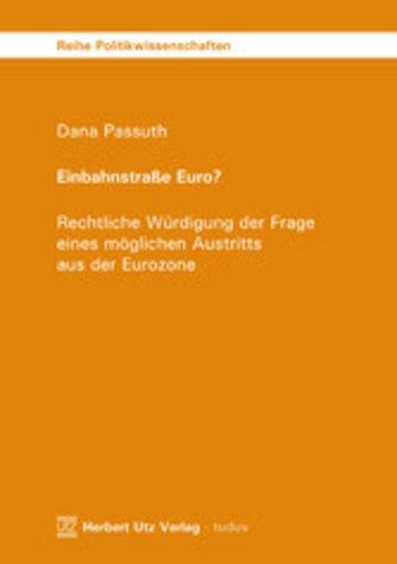 eBook Einbahnstraße Euro? Cover