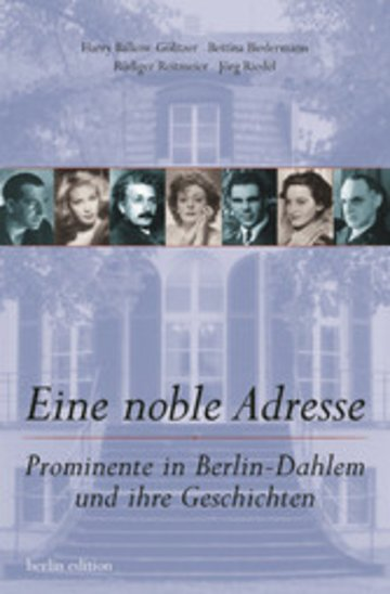 eBook Eine noble Adresse Cover
