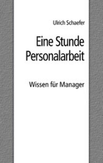 eBook Eine Stunde Personalarbeit Cover