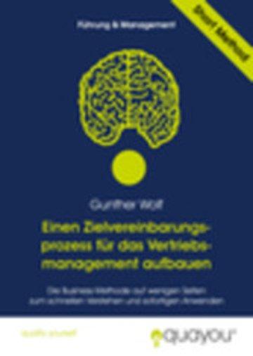 eBook Einen Zielvereinbarungsprozess für das Vertriebsmanagement aufbauen Cover