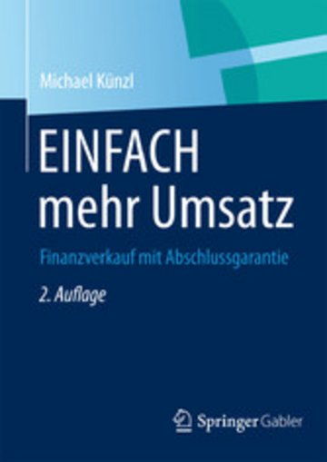 eBook EINFACH mehr Umsatz Cover