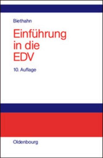 eBook Einführung in die EDV für Wirtschaftswissenschaftler Cover