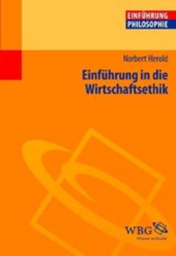 eBook Einführung in die Wirtschaftsethik Cover