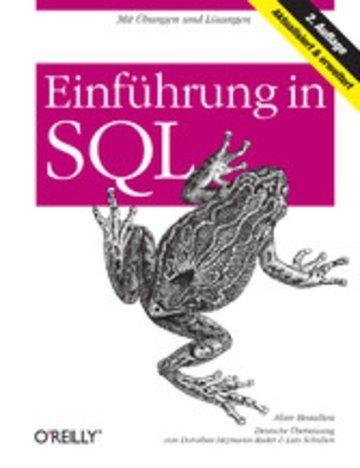 eBook Einführung in SQL Cover