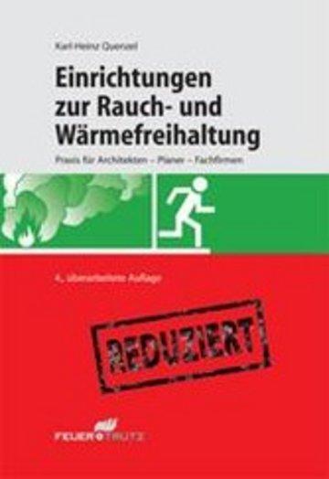 eBook Einrichtungen zur Rauch- und Wärmefreihaltung (E-Book) Cover