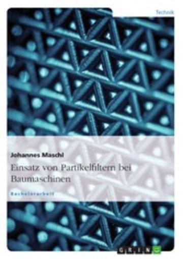eBook Einsatz von Partikelfiltern bei Baumaschinen Cover