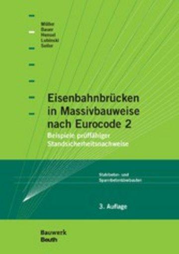 eBook Eisenbahnbrücken in Massivbauweise nach Eurocode 2 Cover