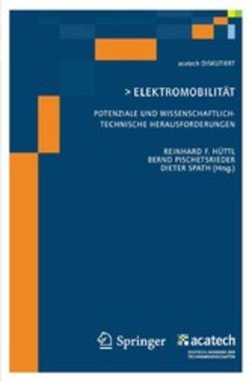 eBook Elektomobilität - Potenziale und wissenschaftlich-technische Herausforderungen Cover