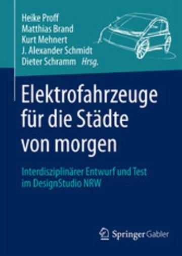 eBook Elektrofahrzeuge für die Städte von morgen Cover