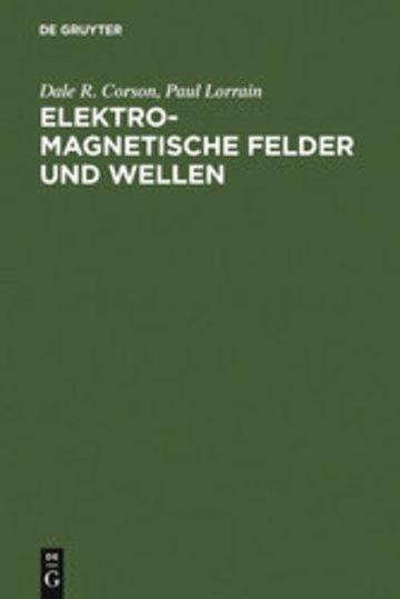 eBook Elektromagnetische Felder und Wellen Cover