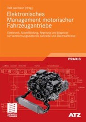 eBook Elektronisches Management motorischer Fahrzeugantriebe Cover