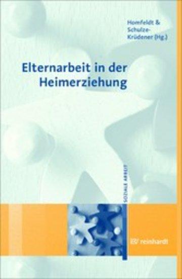 eBook Elternarbeit in der Heimerziehung Cover