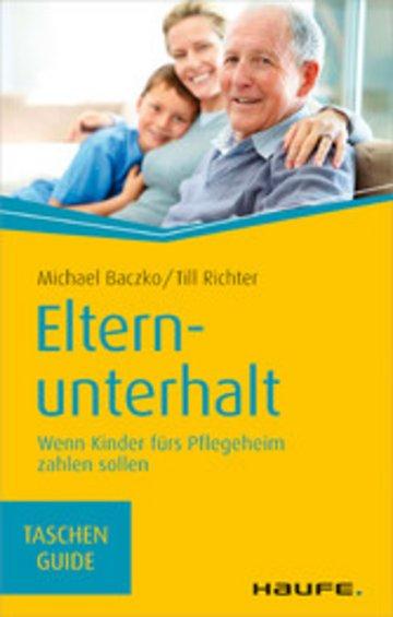 eBook Elternunterhalt Cover