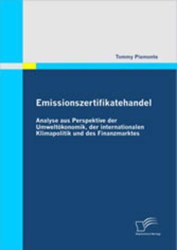 eBook Emissionszertifikatehandel Cover