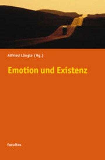 eBook Emotion und Existenz Cover