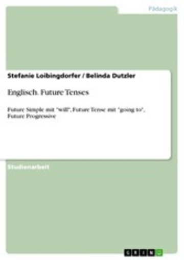 eBook Englisch. Future Tenses Cover