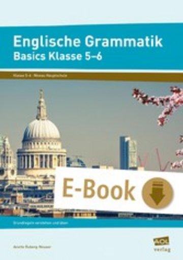 eBook Englische Grammatik - Basics Klasse 5-6 Cover