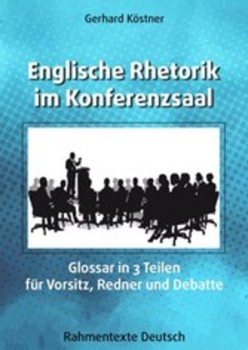eBook Englische Rhetorik im Konferenzsaal Cover