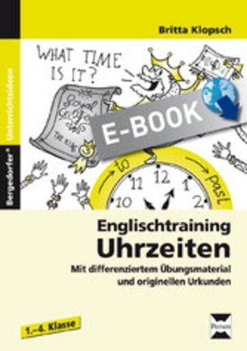 eBook Englischtraining: Uhrzeiten Cover