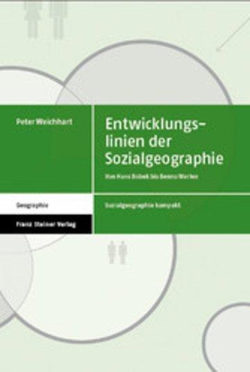 eBook Entwicklungslinien der Sozialgeographie Cover