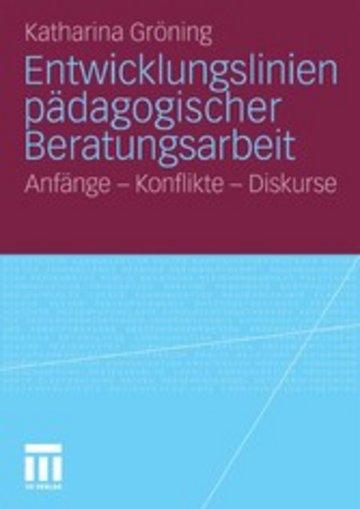 eBook Entwicklungslinien pädagogischer Beratungsarbeit Cover