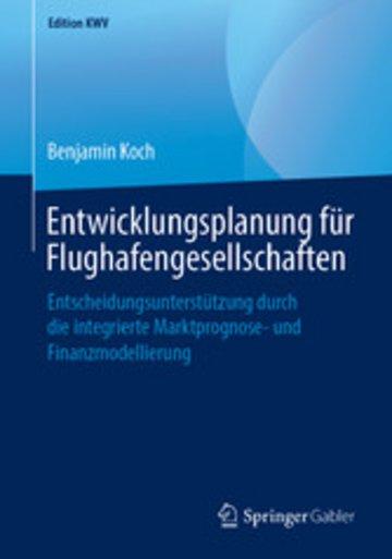 eBook Entwicklungsplanung für Flughafengesellschaften Cover